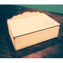 Cajas De Te,mdf,fibro Facil, Personalizadas, 6 Divisiones