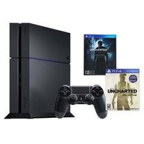 Playstation 4 500gb + Juego + Joystick 12 Cuotas Envio Grat