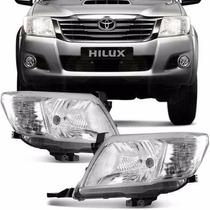 Optica Toyota Hilux 2012-2013-2014-2015 Importada