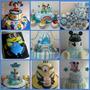Tortas Decoradas Primer Añito Nene Baby Tv Charlie Mickey