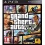 Gta V Grand Theft Auto V Ps3 Original Cerrado Disco Físico