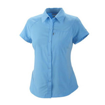 Camisa Silver Ridge Columbia Mujer Harbour Blue Omni Wick