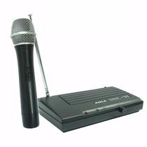 Microfono Inalámbrico Profesional, Wireless Vhf, Karaoke, Pc