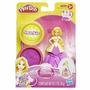 Play-doh Princesa Rapunzel Con Molde Muñeca Masa Brillos