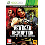 Red Dead Redemption Goty Xbox360 Ntsc Tomo Usados