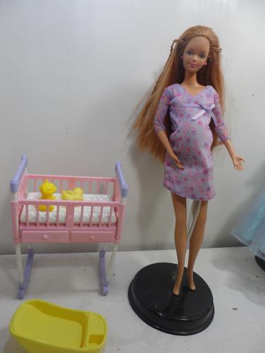 Venta Barbie Pregnant Happy Narey Family Midge En Amiga Embarazada 9HIDE2