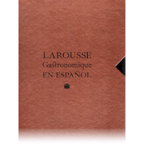 Libro - Larousse Gastronomique