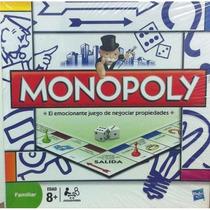 Monopoly Familiar Monopolio Hasbro Gaming Original