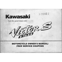 Manual De Usuario Y Despiece Gratis Kawasaki Kr 150 Victor