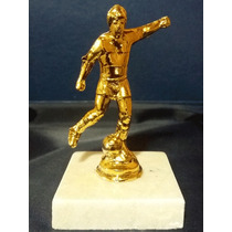 Trofeo De Futbol Jugador Souvenir 10cm