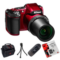 Nikon L840 Reemp. L830 Full Hd+ Lector+ Trip.+ 16gb+ Bolso!!