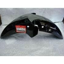 Guardabarro Honda 250 Cbx Twister Delantero Negro Original 6