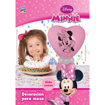 Minnie Kit Globo Deco Mesa Adorno Cumple Minnie Mouse Mickey