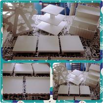 Promo Set Fibro 4 Pintado Candy Bar Mesas Dulces