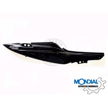 Cacha Lateral Bajo Asiento Derecha Mondial Ex 150 (negra)