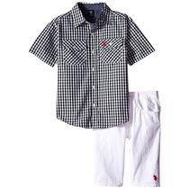 Conjunto Set Polo Importado Camisa Y Bermuda Niño