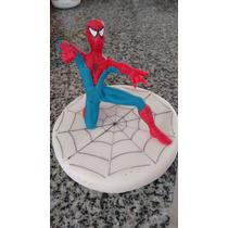 Adorno De Hombre Araña En Porcelana Fria