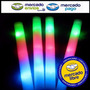 10 Varas Barra Goma Espuma Rompecoco Luminoso Led 3 Colores