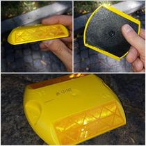 Tachas Viales Reflectivas 3m Bidireccionales Amarillas.