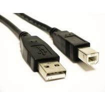 Cable Usb 2.0 A/b 3 Mts Para Impresora Scanner - Blue Mind -