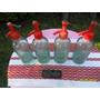 Lote 4 Antiguos Sifones D 1/2 Litro Al Ácido Cabeza Plástica