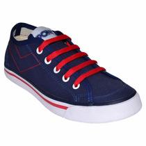 Zapatillas Pony Soho Azul Rojo Py770169