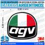 Calcomanias 3d Con Relieve, Accesorio Autos Agv