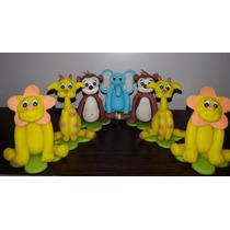 20 Souvenirs Porcelana Fria Minnie - Animalitos - Buos