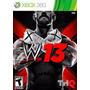 Juego Wwe13 W13 Xbox 360 Ntsc En Español