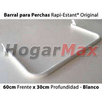 Accesorio Barral Perchas 60cm Para Rieles Rapi-estant®
