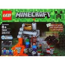 Minecraft Boxset,the Cave / La Cueva 249 Pzs, Caverna Steve