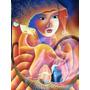 Pintura Arte Naif Haitiano Tamaño 100 Por 75 Excelente