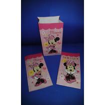 Bolsas De Papel Tipo Sobre De Minnie Mouse ( X10 Unidades)