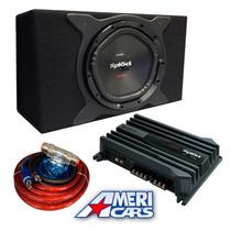 Combo Sony Subwoofer Xs-nw1200 + Potencia Sony + Cajon Origi