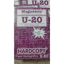 Papel Hectografico Magisterio Transfer Tattoo- 10 Hojas $150