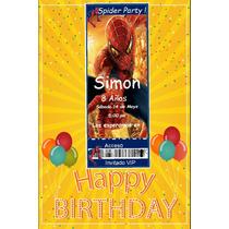 Cumpleaños Tematico Invitaciones Para Whatsapp O Mail