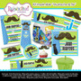 Kit Imprimible Moustache & Tie Tarjetas Invitaciones Cumplea