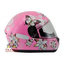 Casco Dama Peels Butterfly Color Rosa O Blanco Talle S $1500