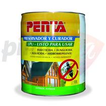Curador Preservador Insecticida Para Madera Penta X 18 Lts.