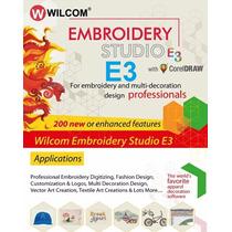 Embroidery Studio E3 2016 + 300.000 Diseños Bordados! Wilcom