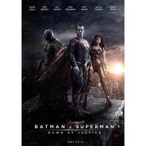 Poster De Lona Vinilica - Batman Vs Superman