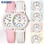 Reloj Casio Dama Lq-139l Con Cuero Vs. Colores W. Resist