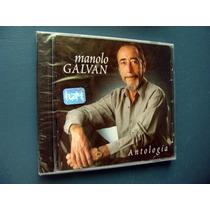 Manolo Galvan Antologia - Cd Cerrado