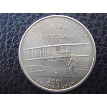 U. S. A. - Carolina Del Norte, 25 Centavos (cuarto), 2001