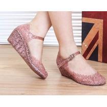 Zapatos Full Plastic Importados En 37/38