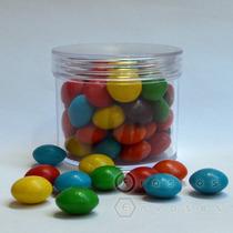 Envase Frasco Acrílico 100cc Souvenirs Golosinero Candy Bar