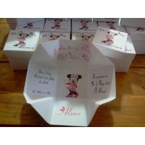 Invitaciones Minnie Para Primer Añito O Bautismo