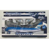 Avion Aerolinea Argentina Grande En Caja Tuni 9913-8