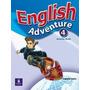 English Adventure 4 Pearson Logman,texto-libros