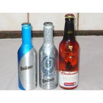 Botellas Vacias Budweiser Quilmes Aluminio
